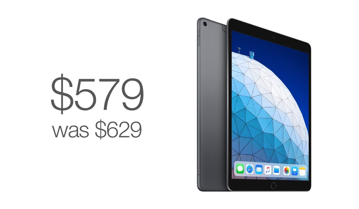 iPad Air deal for just $579