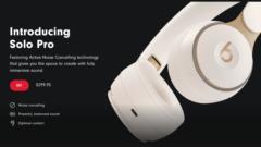 Beats Solo Pro announced