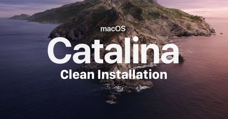 Clean install macOS Catalina