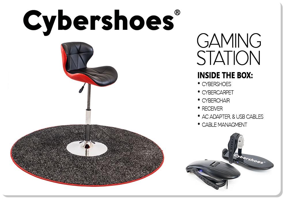 CyberShoes gaming carpet
