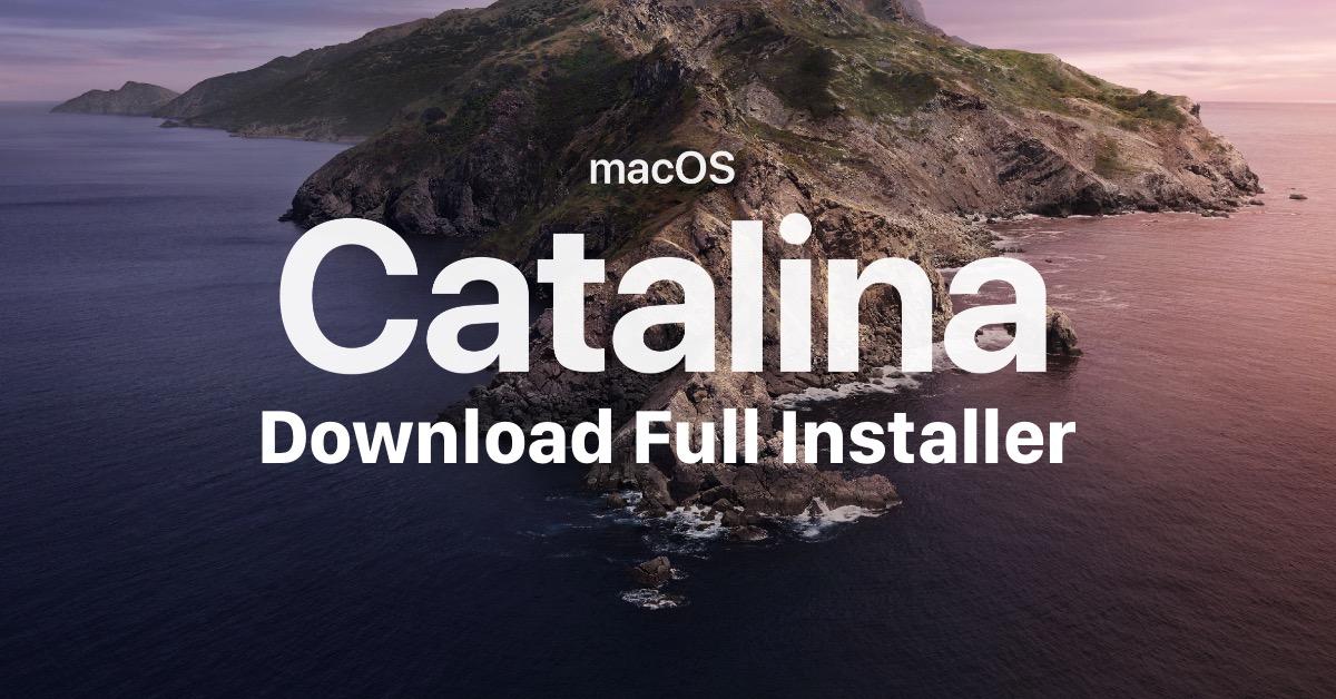 Download macOS Catalina Full Installer