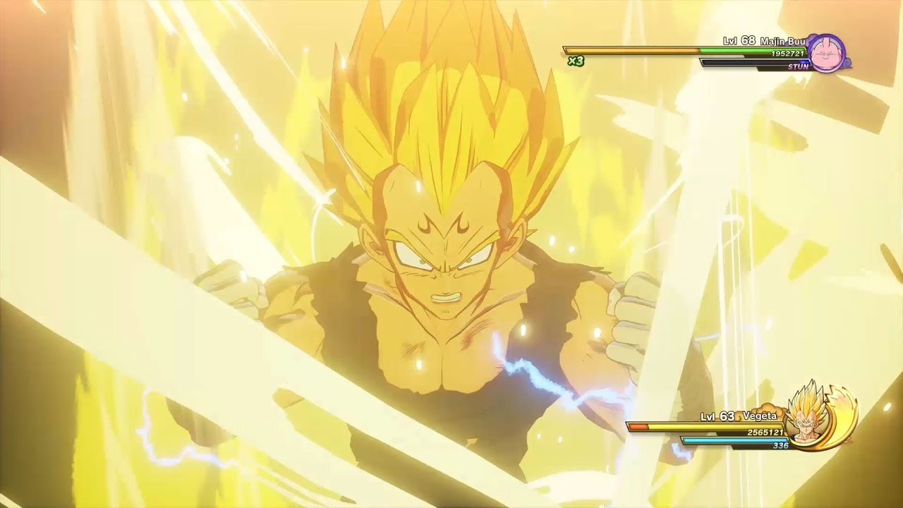 Dragon Ball Z Kakarot New Videos Show Super Vegeta Versus Android 18 Goku S On The Fly Transformations And More