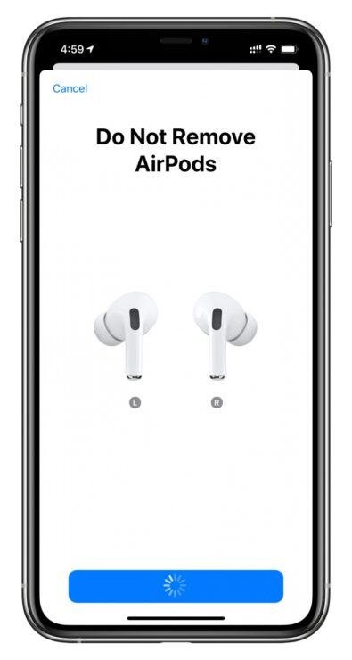 Ear Tip Fit Test AirPods Pro 3
