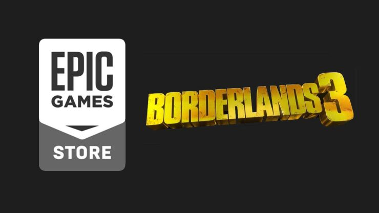 Borderlands 3 Epic Games store