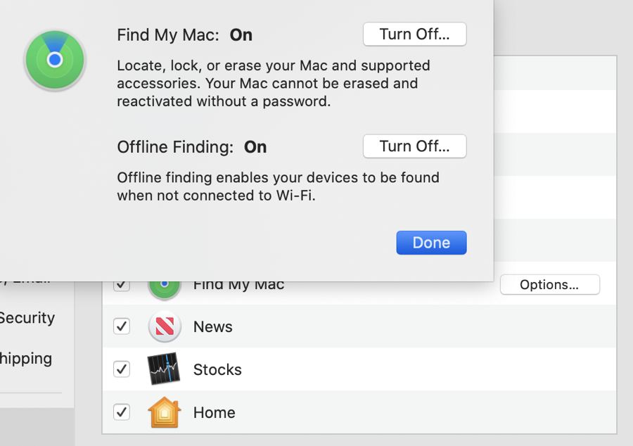 Enable Offline Finding in Find My
