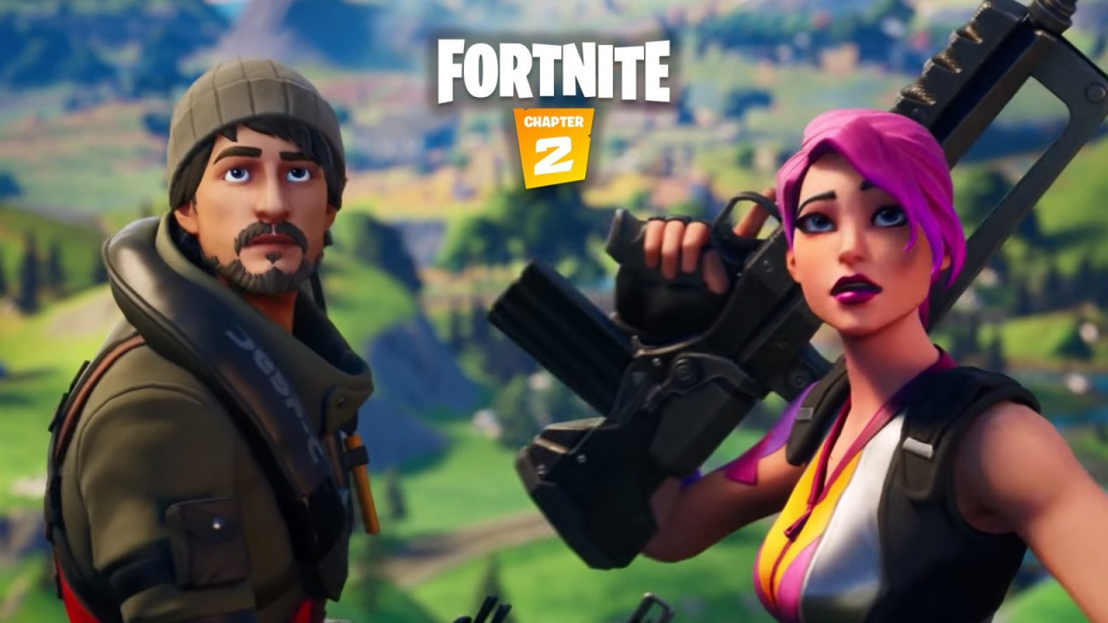 Fortnite Chapter 2 Is Now Live New Trailers Released