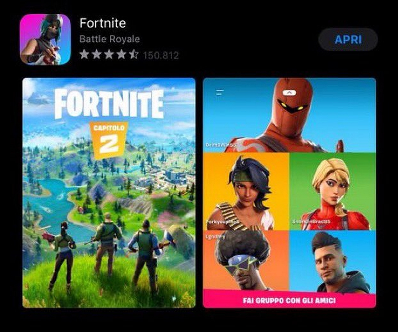 Fortnite Chapter 2 Might Have Been Leaked Via App Store New