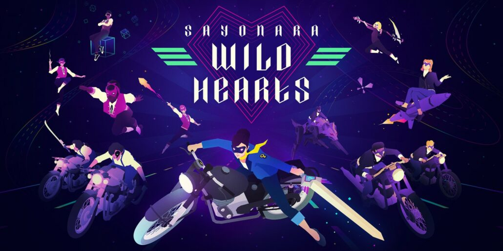 Apple Arcade Sayonara Wild Hearts