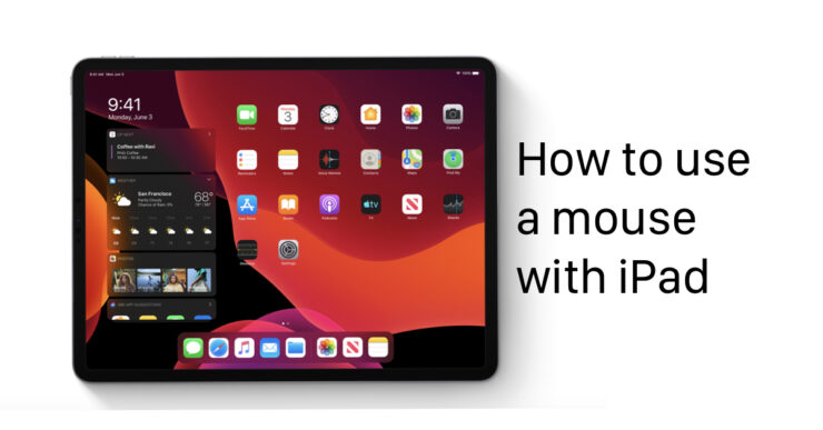 How to use a mouse with iPad
