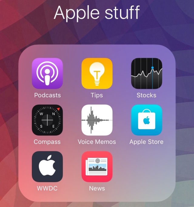 Apple Default Apps