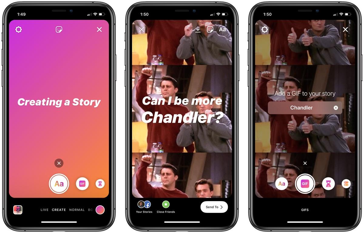 Instagram Create