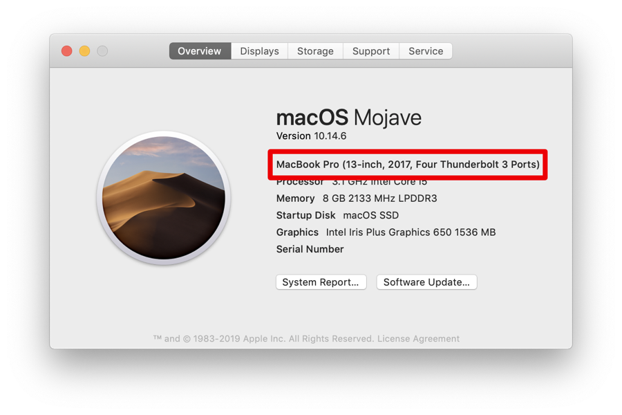 Check your Mac model before you download macOS Catalina