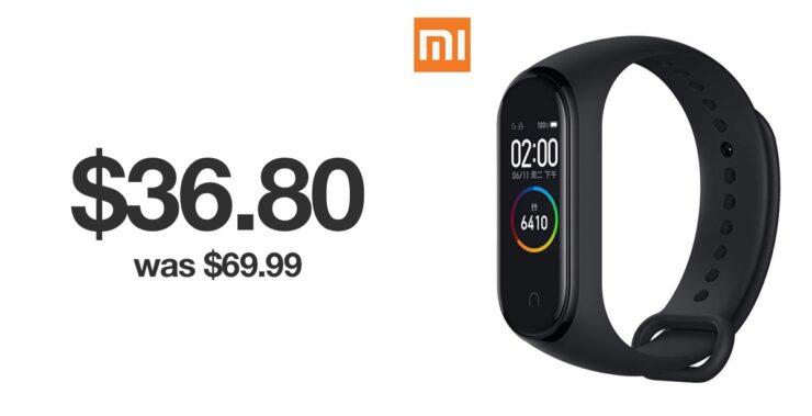 Xiaomi Mi Band 4 discount