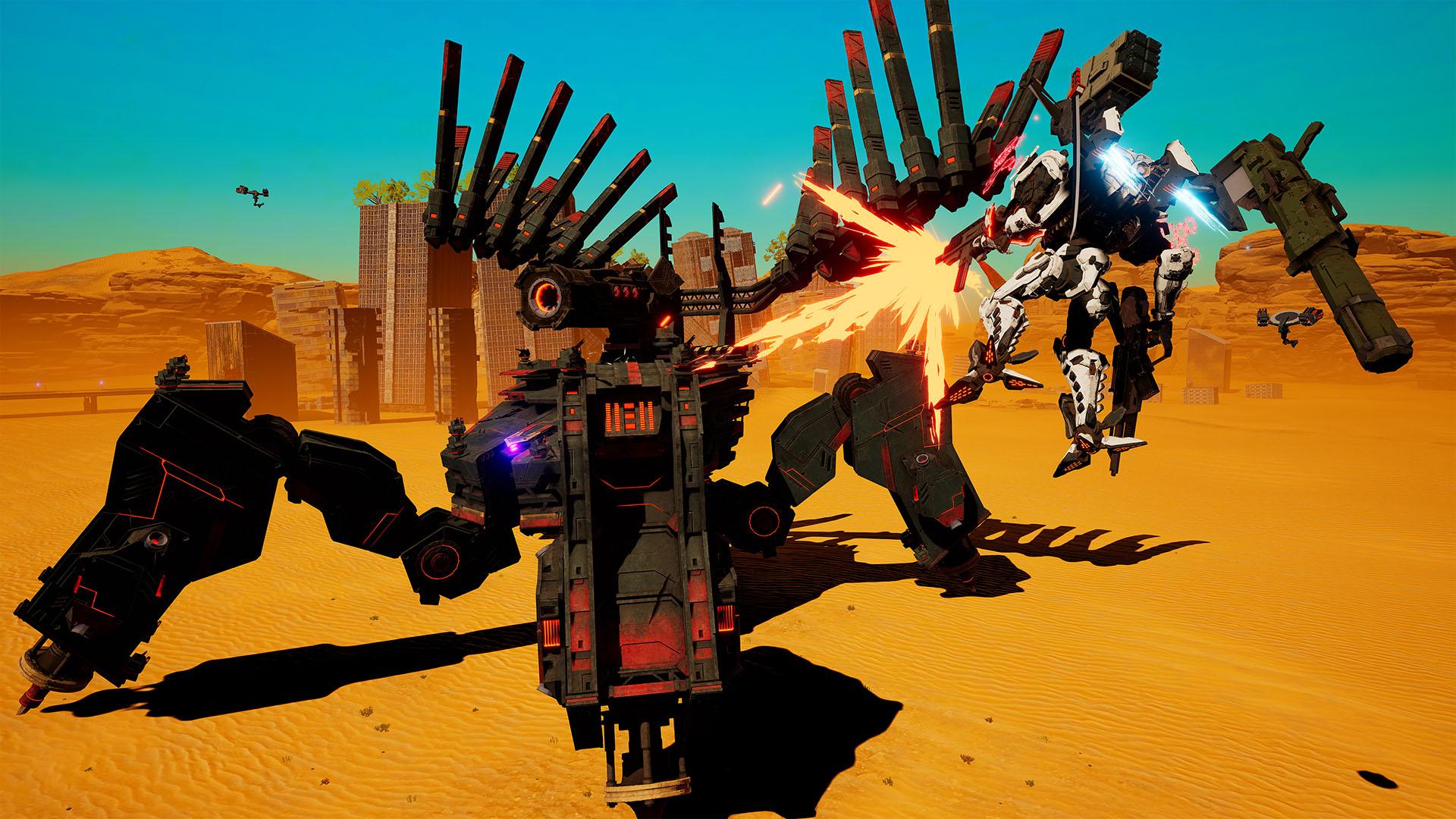 Daemon X Machina Review , Half Beautiful, Half Boring