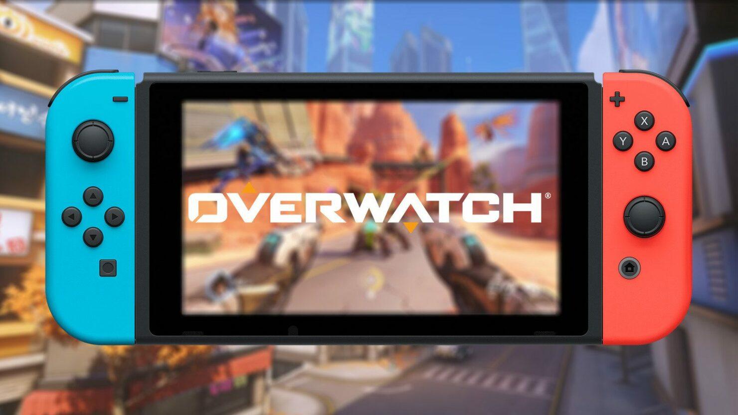 Nintendo Switch Overwatch Launch Event