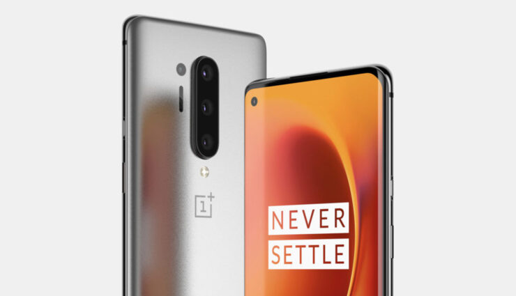 OnePlus 8 Pro Renders Show Rear Quad Camera, Front Punch-Hole Sensor