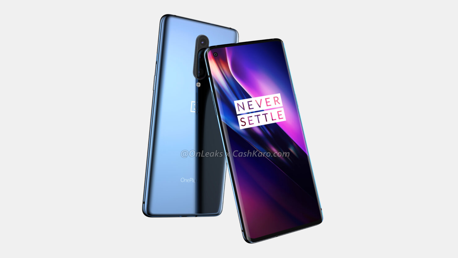 OnePlus 8 Renders Show Punch Hole Camera, Curved Edges & Slim Bezels