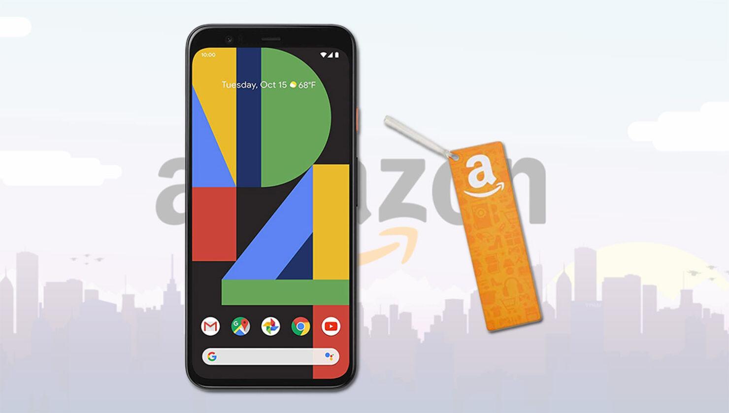 Amazon's Pixel 4 Preorders Are Now Open
