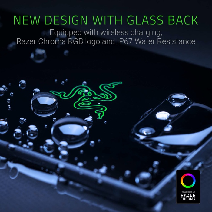 Razer Phone 2 features wireless charging