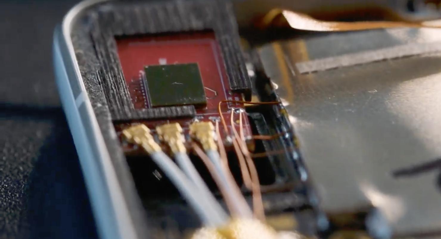 Pixel 4 features a Soli radar chip