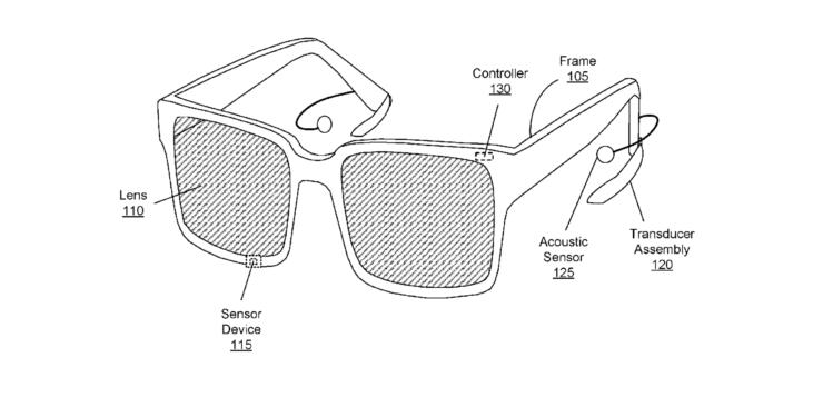Facebook patent AR glasses