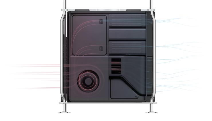 Apple Mac Pro Airflow