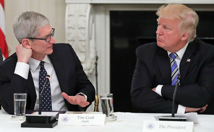 Donald Trump Tells Tim Cook That the iPhone Home Button Was Better Than the New Swipe Gesture