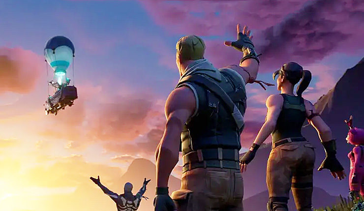 Fortnite Chapter 2 Trailer And Map Leak Medals Swimming