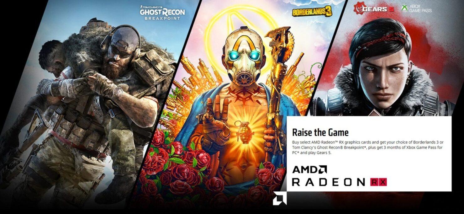 AMD Raise the Game 2019