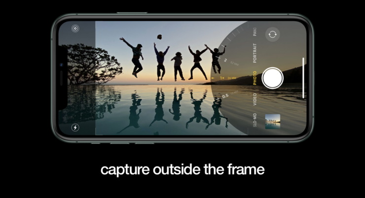 capture outside the frame