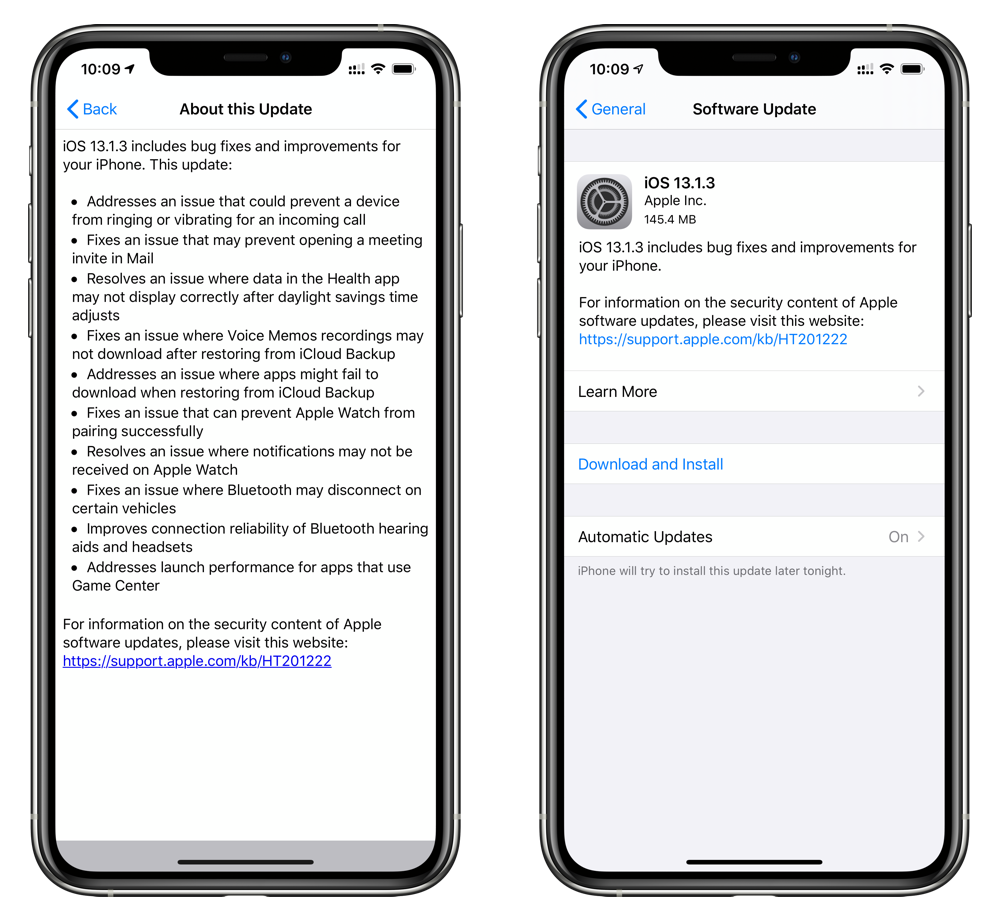 download iOS 13.1.3