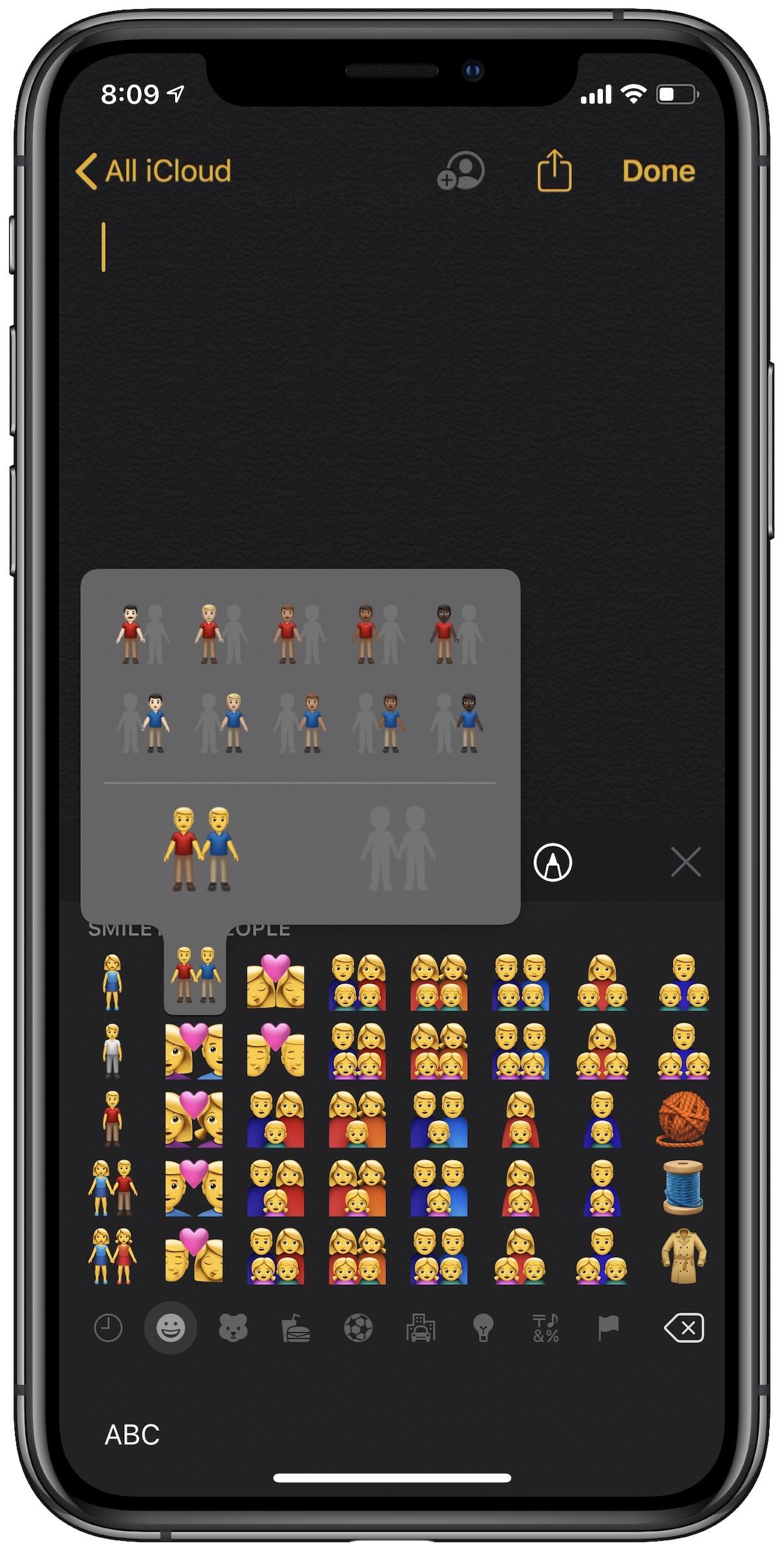 New diverse emojis
