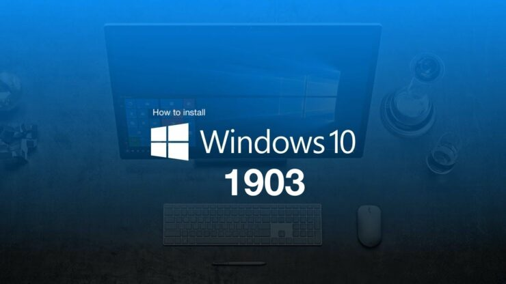 how to install windows 10 1903