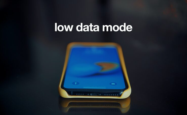 how to use Low Data Mode on iOS 13 / iPadOS