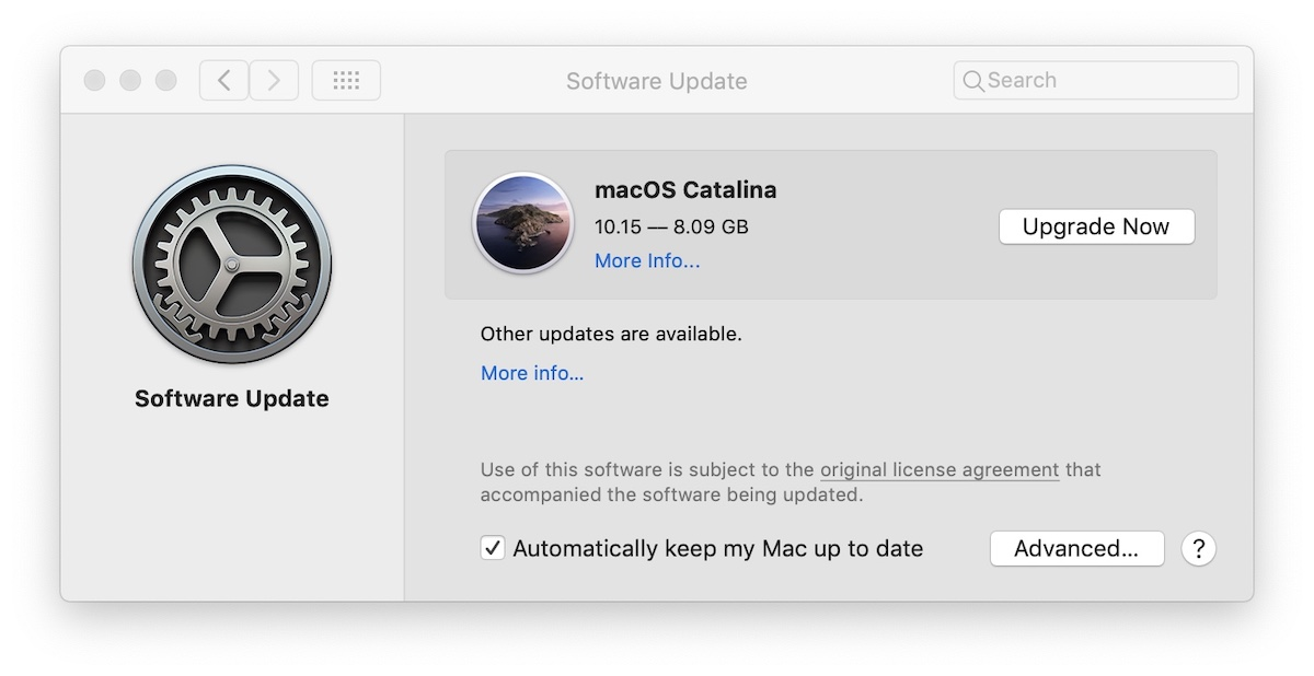 macOS Catalina - Upgrade Now