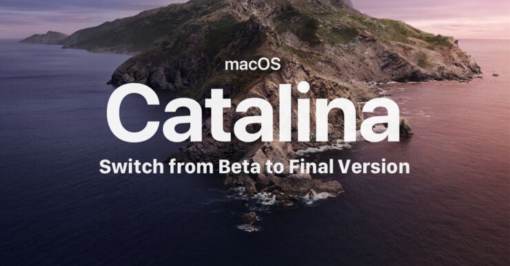 macOS Catalina beta to final version