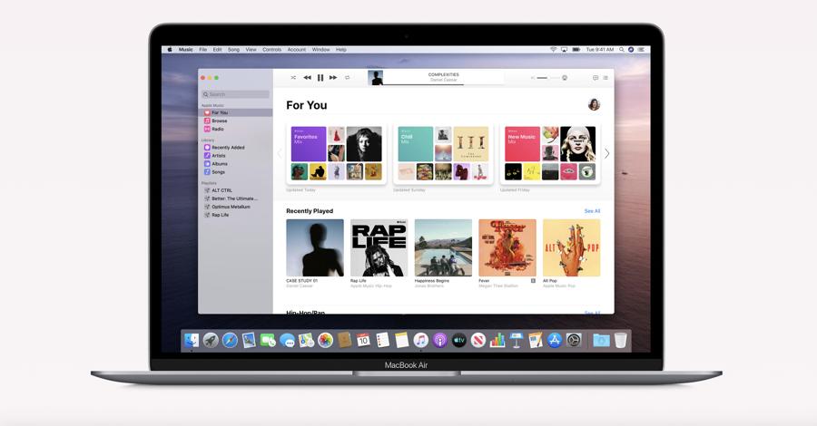 macOS Catalina 10.15.2 bta update