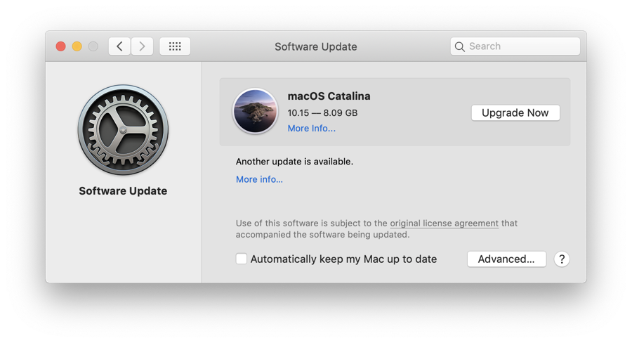 download macOS Catalina from Apple's server