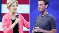 mark-zuckerberg-elizabeth-warren