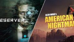 Observer Alan Wake Nightmare EGS