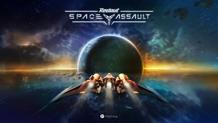 Redout: Space Assault Key Art