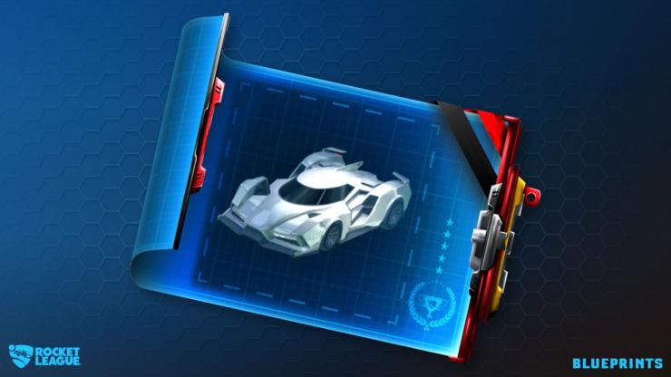 Rocket League Blueprints Psyonix