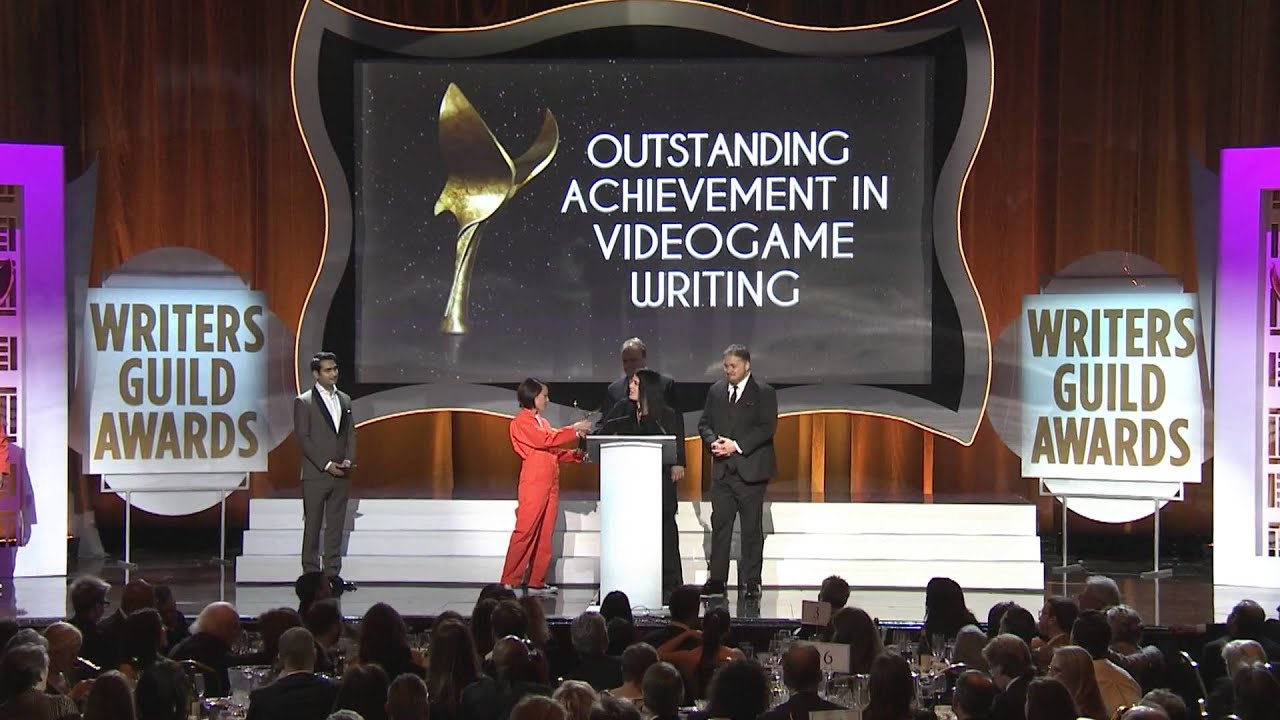 Writers Guild of America Outstanding Achievemnt Videogame Writing