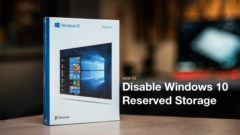 disable Windows 10 Reserved Storage
