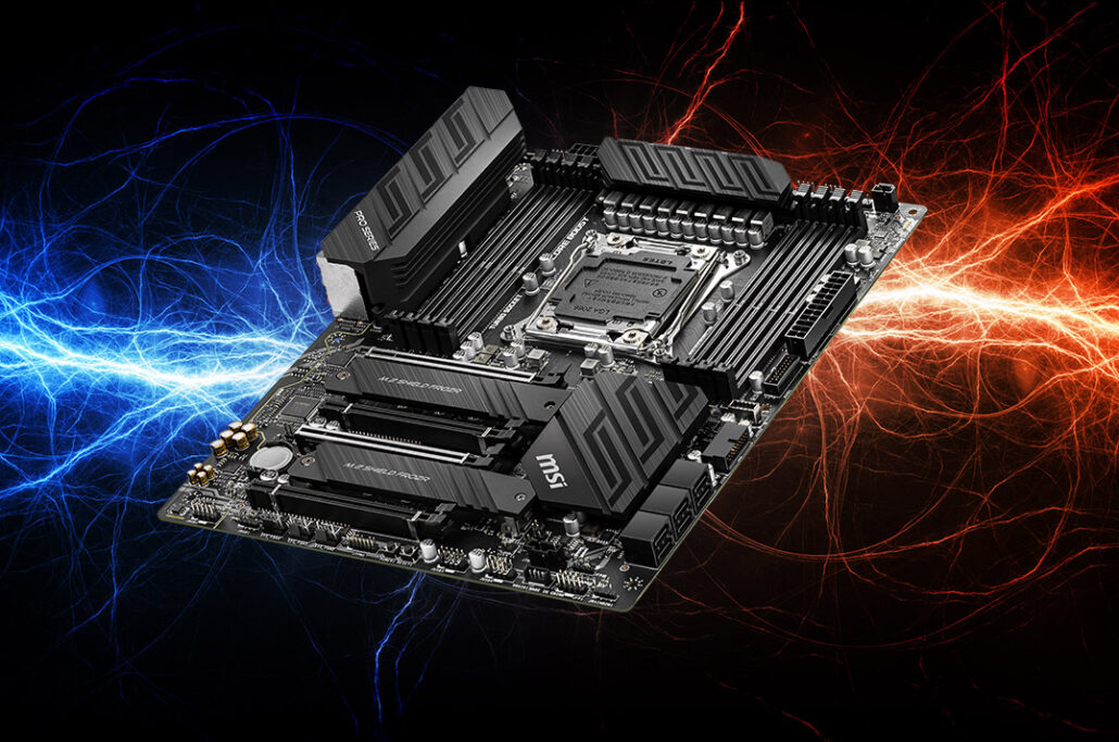 MSI X299 Motherboards For Intel 10th Gen X-Series CPUs