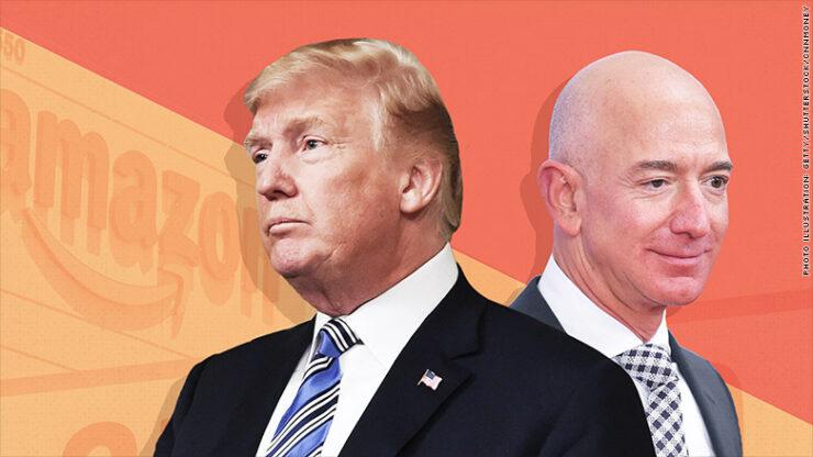 Trump v bezos