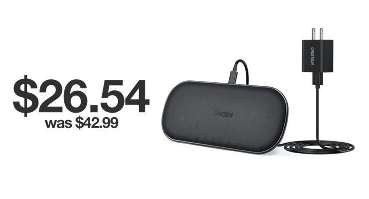 5-coil wireless charger on sale