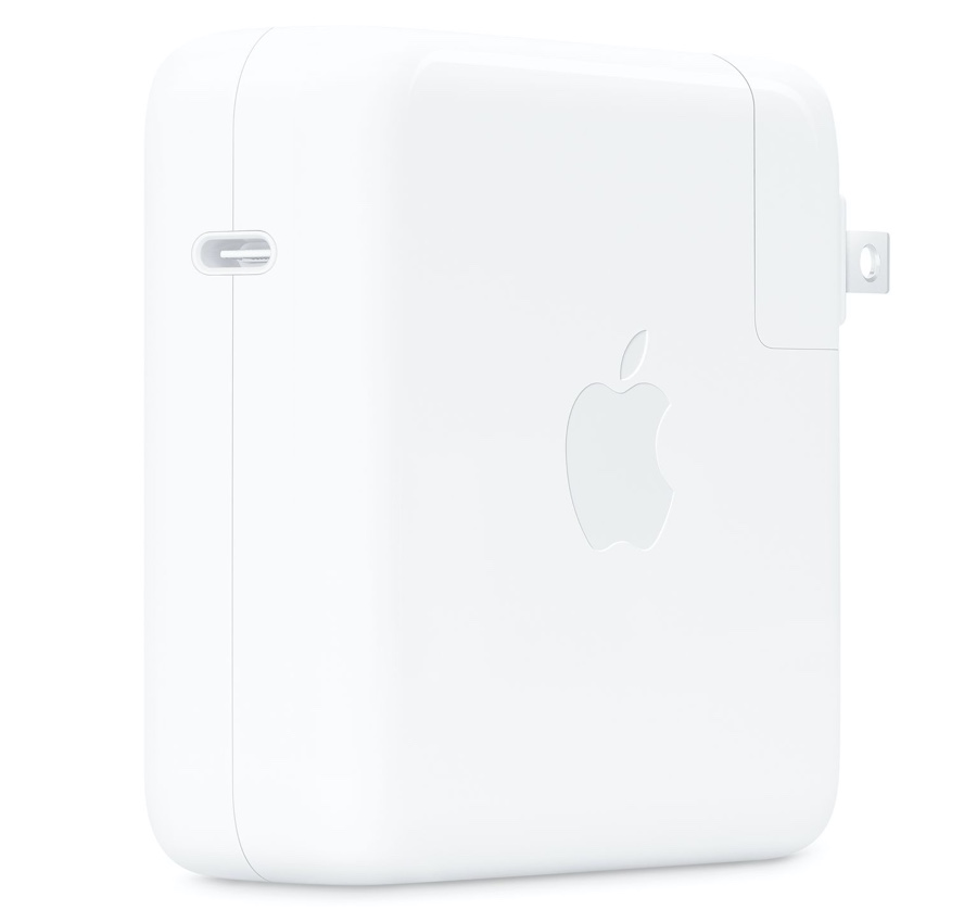 96W power adapter from Apple