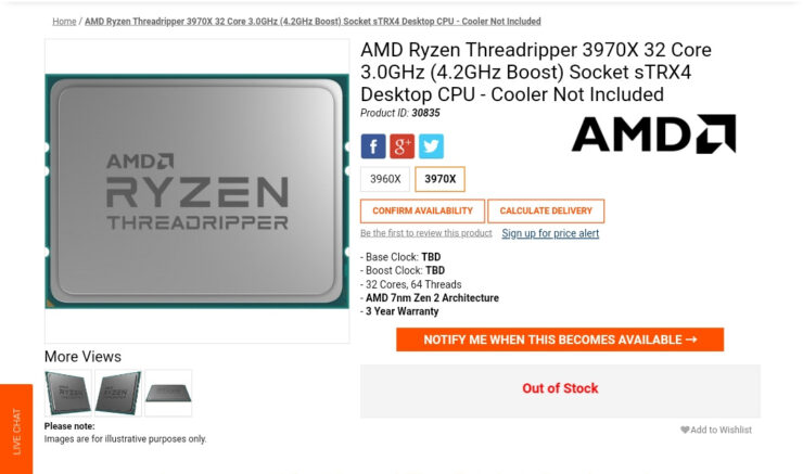 amd-ryzen-threadripper-3970x-online-listing