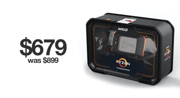 Threadripper 2950X falls to just $679 for Black Friday 2019